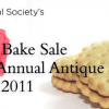 Bake Sale and Raffle at the 2011 Antique Sale Fund-raiser