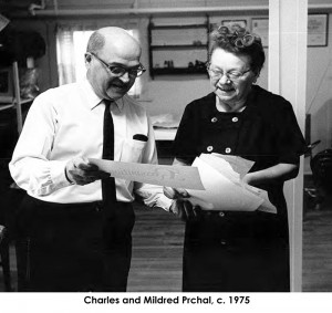 Charles and Mildred Prchal ca. 1975